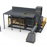 Continuous Metal Baler Machine