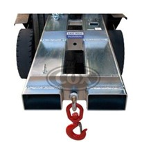 Slip-On 2 Hook Point Jib Forklift Attachment