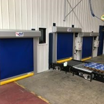 Conveyor and Small Hatch Type Rapid Doors