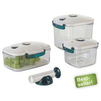 NEW-Line Vacuum Container (Square)