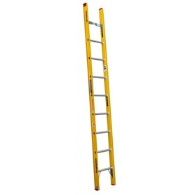 Fibreglass Single Ladder 16ft 4.9m | Tradesman