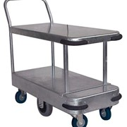 Galvanised Twin Deck Platform Trolley - HTS600D