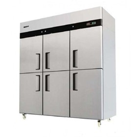 Commercial Fridge |  Dual Temperature | Six Half Doors