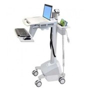 Telemedicines I StyleView SV42 Powered Laptop Medical Cart
