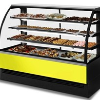 Patisserie Curved Glass Display Case | EVO 120
