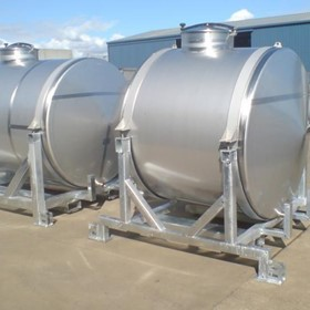 Fineweld Beer and Wine Stainless Steel Tanks
