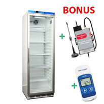 Vaccine Fridge 350LT plus Free Data Logger and Auto Dialler - NULHR400