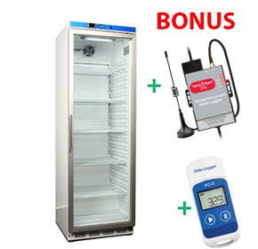 Vaccine Fridge 350LT + Free Data Logger and Auto Dialler - NULHR400GK
