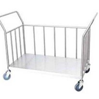 Bulk Linen Collection Trolley