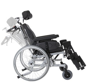 Tilt and Recline Wheelchair | Aspire Relax