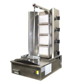 4 Burner Infrared Vertical Rotisserie