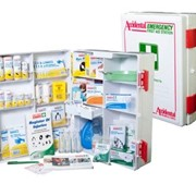 National Workplace First Aid Kit ABS Plastic Wall Mountable Large