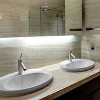 How to choose the right basins and vanities for hospitality bathrooms