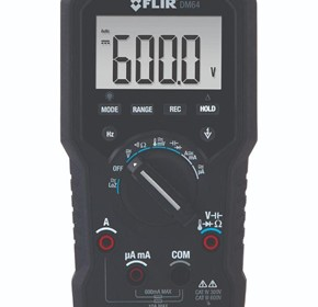 HVAC TRMS Digital Multimeter | FLIR DM64