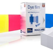 Magicard Dye Film & Cleaning Spool | 300 Prints | Printer Ribbons