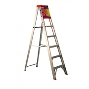 Aluminium Single Sided Step Ladder 7ft 2.1m | INDALEX Tradesman