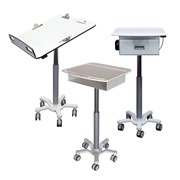 Height Adjustable Rounds Trolleys