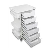 Locking Core 6 Drawer Cart