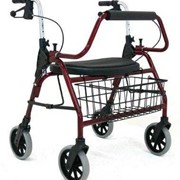 Mighty Mack Aluminium Seat Walker - Rollators