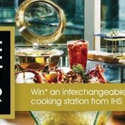 Be the Buffet Master - IHS Twitter competition announcement