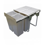 68L Handle Pull Quad Slide Out Waste Recycling Bin | KRB42