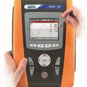 HT Italia Touchscreen Power Quality Analysers - 78