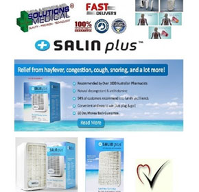 Drysalt Therapy System | Salin Plus