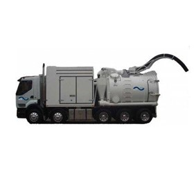 Liquid Ring Vacuum Truck