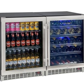 Dual Zone Beer and Wine Bar Fridge SK151-Combo