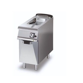 Gas Deep Fryer – Single Pan  Gas 1 x 15lt Pan 1 x Basket D7215/10 FRG