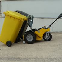 Battery Electric Wheelie Bin Movers | 240, 660 & 1100 Litre Bins
