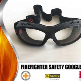 On Site Safety Firefighter Safety Goggles – Smoke or Clear Lens