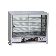 Pie Warmer Square Top with Glass Doors | 50 Pie RO-PA50