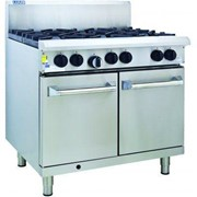 Luus RS-2B6P 900mm Oven with 2 Burners & 600mm Grills