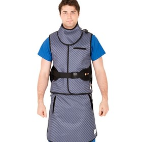 Radiation Protection Vest and Skirt Back Support Apron