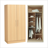 CodaCare | Aged Care  Wardrobes -  Double Door
