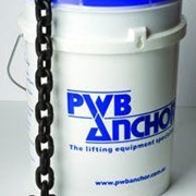 KITO PWB | Long Proof Coil Chain – Galvanized – Pail Pak