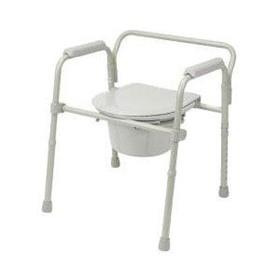 Bedside Commode/Toilet Aid – 2 in 1
