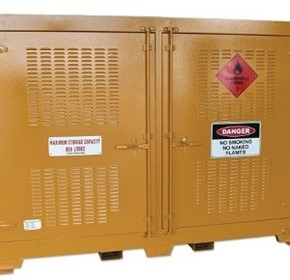 Outdoor Dangerous Goods Storage Cabinet |  850 Litre