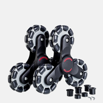 Stair Climber Wheel Set R2 (pair) | Hand Truck | Omniwheel