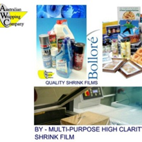 BOLLORE - BY Multipurpose Polyolefin Shrink Film