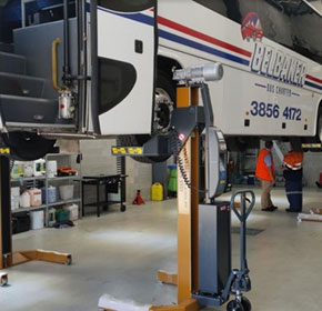 Making the switch to mobile truck and bus hoists may save you money