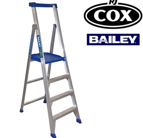 Bailey 150kg Aluminium Platform Stepladder Height Access Work Platform