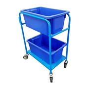 Utility Trolleys with Tubs