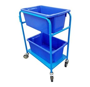 Trolleys with Fitted Tubs