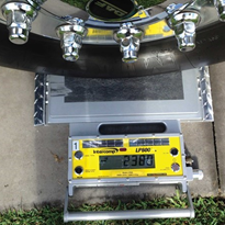 WA Caterpillar agent uses wheel pads for cccuracy