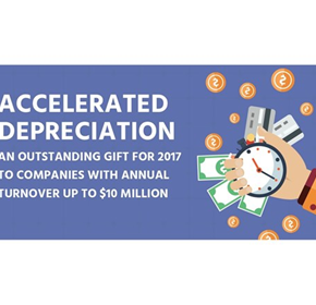 An outstanding gift to companies with annual turnover up to $10M