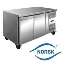Work & Prep Bench Fridge | Norsk GN 2-Door 314L