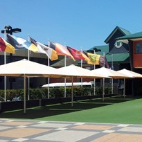 Large Square Outdoor Umbrella Supplier | Commercial Quality