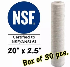 Water Filter Cartridges | S20A-5A-Box